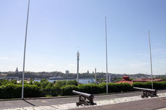 Stockholm Sweden Grona Lund Royalty Free Stock Photo