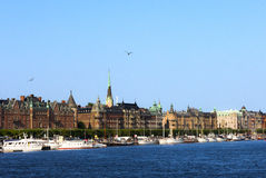 Stockholm in Sweden Royalty Free Stock Image
