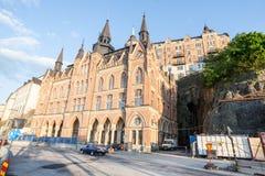 Stockholm Sweden Historical Building Stock Image