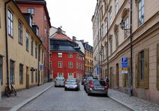 City views of Stockholm Stock Image