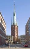 stockholm sweden Klara Church Arkivbilder