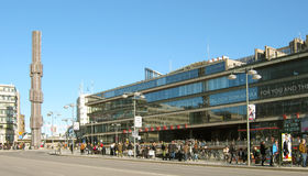 Stockholm. Sweden. Kulturhuset. Royalty Free Stock Photography