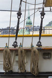 STOCKHOLM - SWEDEN - 21 MAY, 2016.Scenic panorama of the Old Tow Stock Image