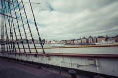 STOCKHOLM SWEDEN 21 May 2016: The ship af Chapman in Stockholm S Royalty Free Stock Image
