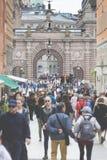 STOCKHOLM SWEDEN 21 May 2016. Stockholm, Sweden. Riksdag (parlia Royalty Free Stock Image