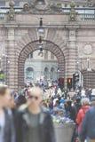 STOCKHOLM SWEDEN 21 May 2016. Stockholm, Sweden. Riksdag (parlia Royalty Free Stock Photography