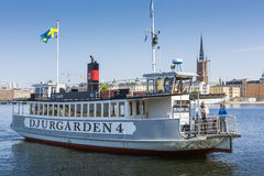 STOCKHOLM, SWEDEN - MAY 21, 2016: Stockholm water transport. Stock Photo