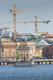 STOCKHOLM, SWEDEN - MAY 21, 2016: Stockholm water transport. Stock Photos