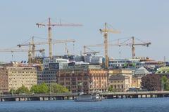 STOCKHOLM, SWEDEN - MAY 21, 2016: Stockholm water transport. Stock Photo