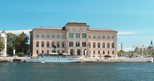 Stockholm, Sweden. National Museum Of Fine Arts Is The National Gallery Of Sweden, Located On The Peninsula Blasieholmen