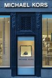 Michael Kors store front. Multinational fashion company. royalty free stock images