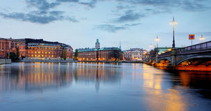 Stockholm, Sweden. Riksdag (parliament) building Royalty Free Stock Photos