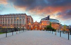 Stockholm, Sweden. Riksdag (parliament) building Stock Images