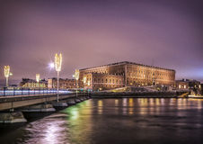 Stockholm. Sweden. Royal palace. Stock Photography