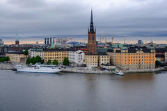 Stockholm,Sweden, The ships at the pier Stock Image