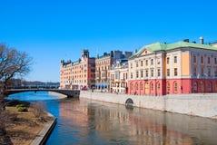 stockholm sweden Statliga institutioner Arkivfoto