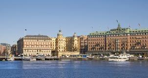 Stockholm. Sweden. Svenska Handelsbanken AB main building Stock Images