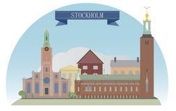 Stockholm. Sweden. For you design Royalty Free Stock Image