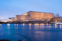 Stockholm - The Swedish Royal Palace Royalty Free Stock Photography