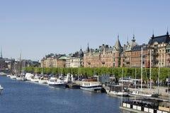 stockholm Szwecji Zdjęcia Stock