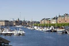 stockholm Szwecji Fotografia Stock