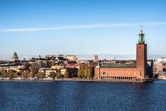 Stockholm Town Hall. Stockholm Stadshus with the island Kungsholmen Stock Image