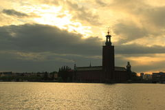 Stockholm town hall Stock Photography
