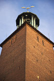 Stockholm town hall, Sweden Royalty Free Stock Image