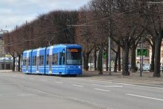 Stockholm tram 2 Royalty Free Stock Images
