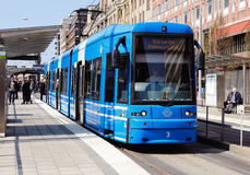 Stockholm tram Stock Image