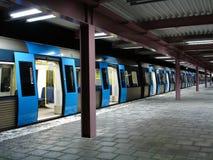 stockholm tunnelbana Royaltyfri Foto