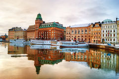 Stockholm view Stock Photo