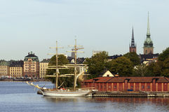 Stockholm view Royalty Free Stock Image