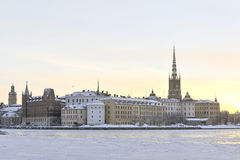 Stockholm view Royalty Free Stock Photos