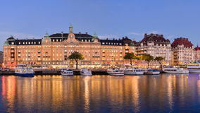 Stockholm view Royalty Free Stock Images