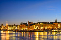 Stockholm view Stock Photography
