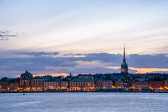 Stockholm view Stock Image