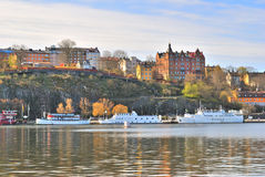 Stockholm, Sodermalm Royalty Free Stock Photos