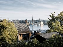 Stockholm view Royalty Free Stock Photography