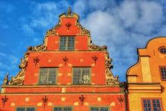 Stockholm vintage architecture, hdr image. Stock Image