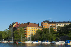 Stockholm by the water: Gröndal Stock Images