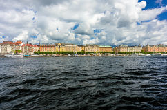 Stockholm from the water Stock Photos