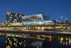 Stockholm Waterfront building evening Royalty Free Stock Photo