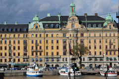 Stockholm waterfront, Sweden stock photos