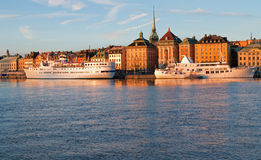 Stockholm waterfront view. Royalty Free Stock Photography