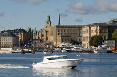 Stockholm waters Stock Photos