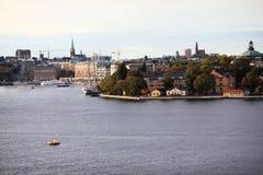 stockholm widok Zdjęcia Royalty Free
