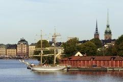 stockholm widok Obraz Royalty Free