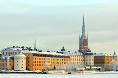 Stockholm winter Royalty Free Stock Photography