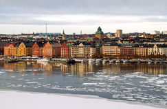 Stockholm, winter image. Royalty Free Stock Image